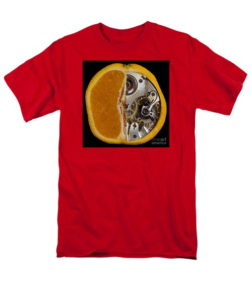 Men's T-Shirt  (Regular Fit) featuring the photograph Clockwork Orange by Brian Roscorla
