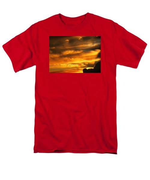 Clouded Sunset Men's T-Shirt  (Regular Fit) by Kyle West