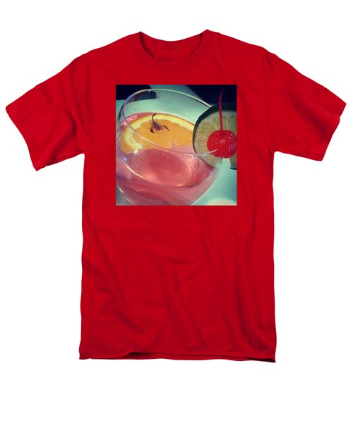 Cocktail With A Bite Men's T-Shirt  (Regular Fit) by Sacha Kinser