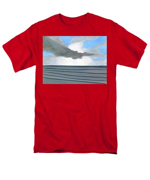 Cocoa Beach Sunrise 2016 Men's T-Shirt  (Regular Fit) by Dick Sauer