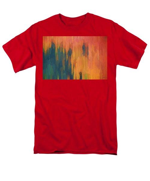 Color Abstraction Xlix Men's T-Shirt  (Regular Fit)