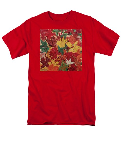 Colors Of October Men's T-Shirt  (Regular Fit) by Mike Caitham