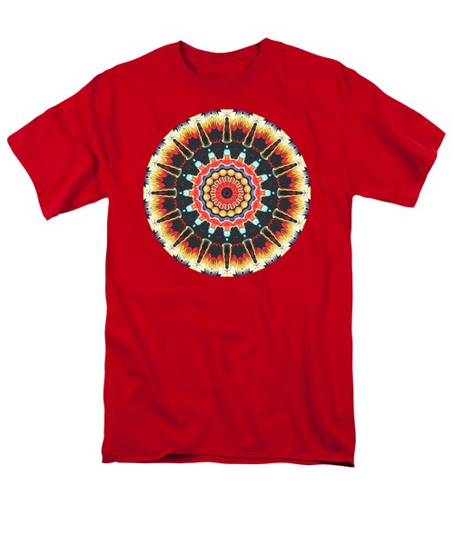 Concentric Balance Of Colors Men's T-Shirt  (Regular Fit) by Phil Perkins