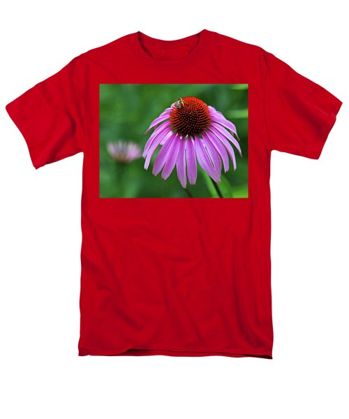 Men's T-Shirt  (Regular Fit) featuring the photograph Coneflower by Judy Vincent