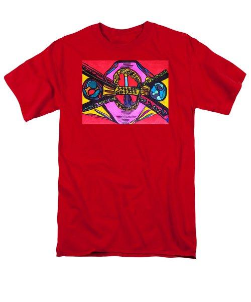 Contact Men's T-Shirt  (Regular Fit) by Darrell Black
