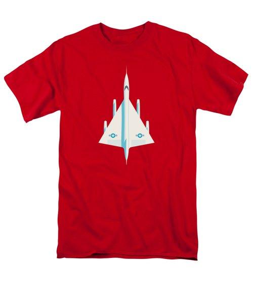 Convair B-58 Hustler Us Air Force Supersonic Jet Bomber - Crimson Men's T-Shirt  (Regular Fit)