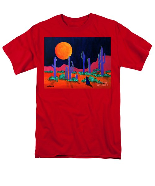 Coyote Moon Men's T-Shirt  (Regular Fit) by Jeanette French