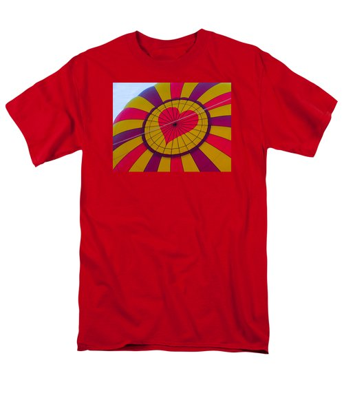 Men's T-Shirt  (Regular Fit) featuring the photograph Cross My Heart by Brenda Pressnall