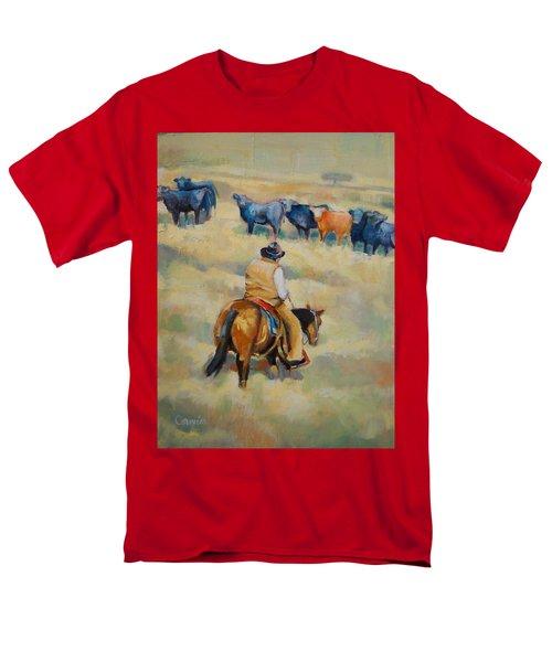 Crossing Men's T-Shirt  (Regular Fit) by Jean Cormier