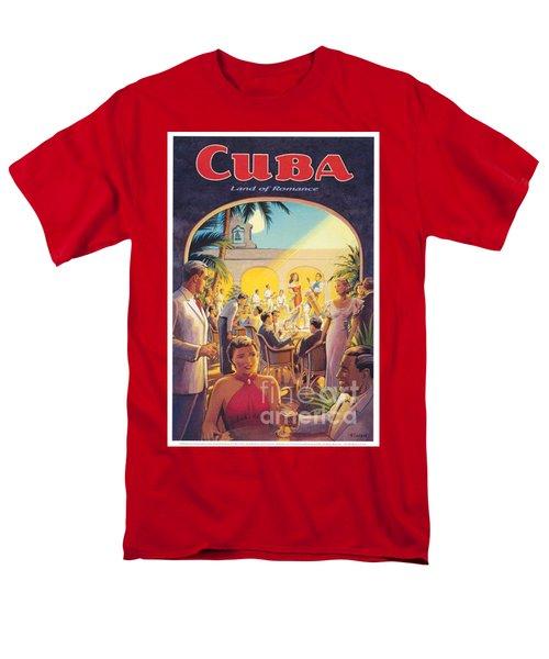 Cuba-land Of Romance Men's T-Shirt  (Regular Fit) by Nostalgic Prints