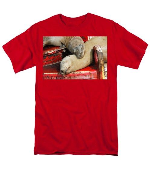 Cuddle Buddies  Men's T-Shirt  (Regular Fit) by Shoal Hollingsworth