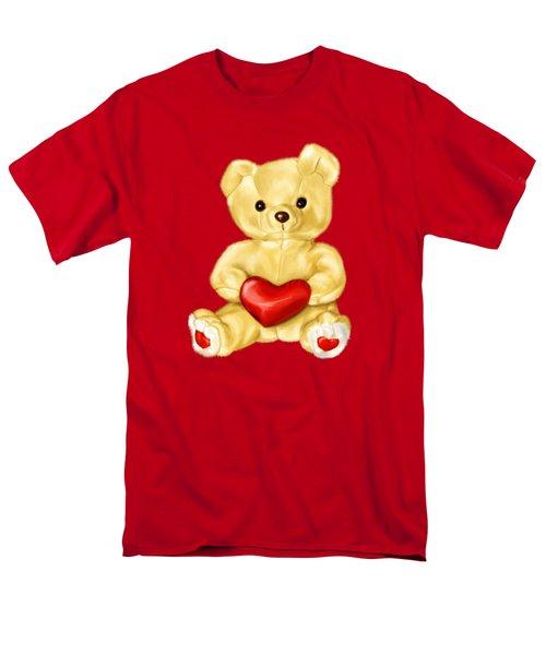 Cute Teddy Bear Hypnotist Men's T-Shirt  (Regular Fit) by Boriana Giormova
