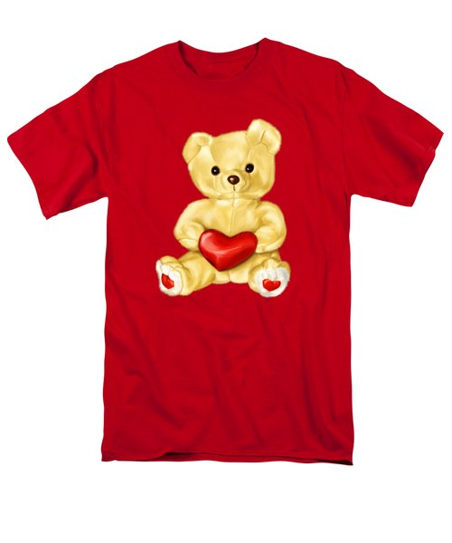 Cute Teddy Bear Hypnotist Men's T-Shirt  (Regular Fit)