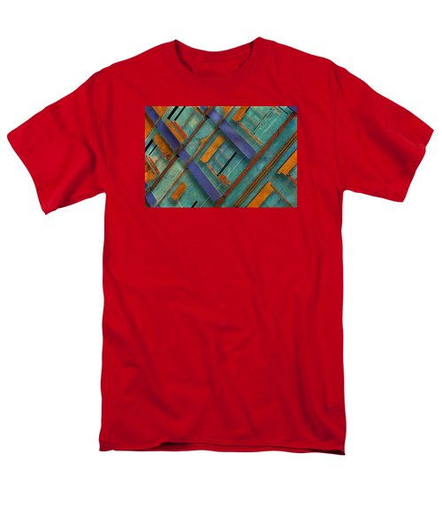 Diagonal Men's T-Shirt  (Regular Fit) by Don Gradner