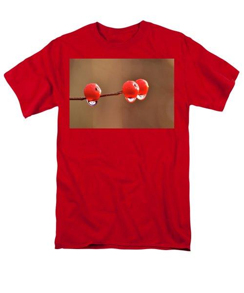 Droplets Men's T-Shirt  (Regular Fit) by Nancy Landry