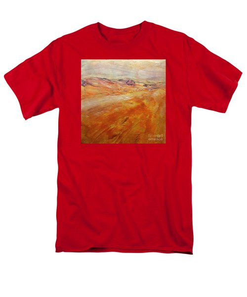 Men's T-Shirt  (Regular Fit) featuring the painting Drought by Dragica  Micki Fortuna