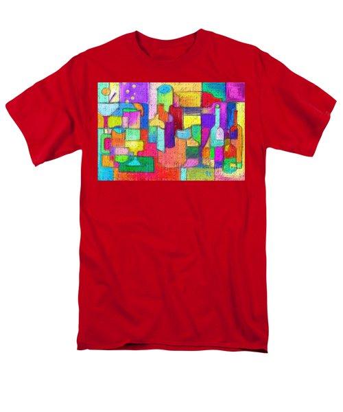 Drunk Aka Too Many Drinks Men's T-Shirt  (Regular Fit) by Jeremy Aiyadurai