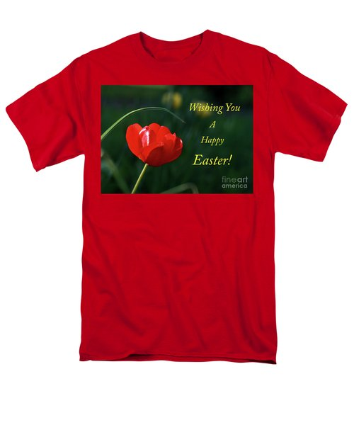 Men's T-Shirt  (Regular Fit) featuring the photograph Easter Tulip by Douglas Stucky