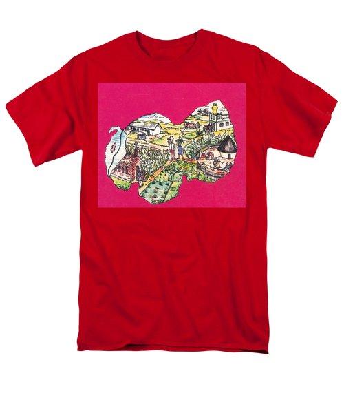 Education Et Citoyennete Au Rwanda Men's T-Shirt  (Regular Fit) by Emmanuel Baliyanga