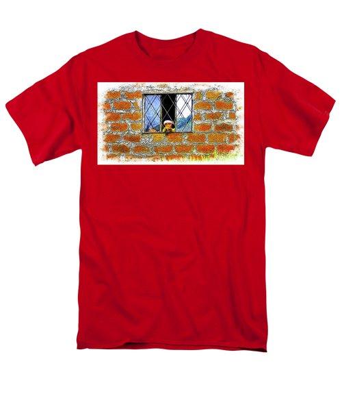 El Altar Kid 872 Men's T-Shirt  (Regular Fit) by Al Bourassa
