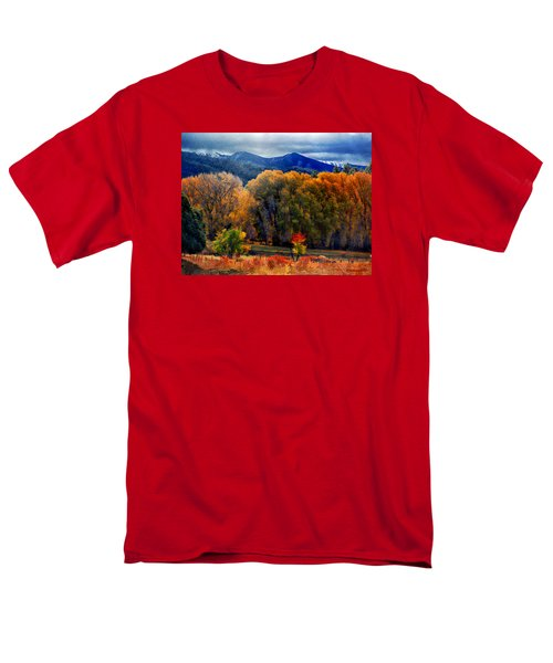 El Valle November Pastures Men's T-Shirt  (Regular Fit) by Anastasia Savage Ealy