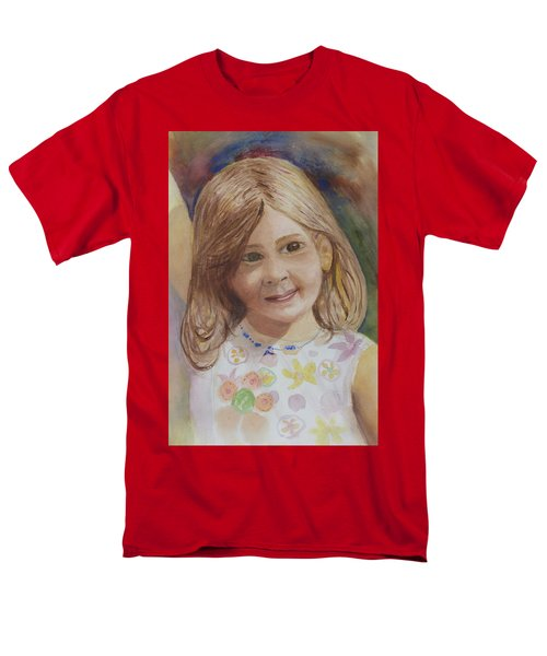 Men's T-Shirt  (Regular Fit) featuring the painting Elizabeth by Donna Walsh