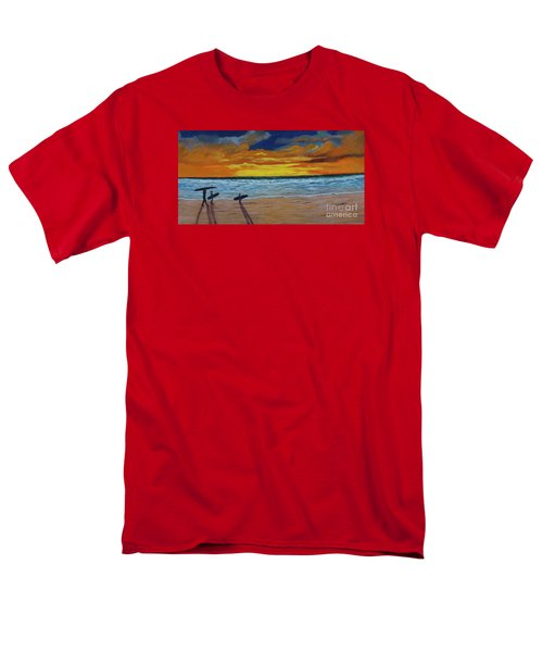 End Of Day Men's T-Shirt  (Regular Fit) by Myrna Walsh