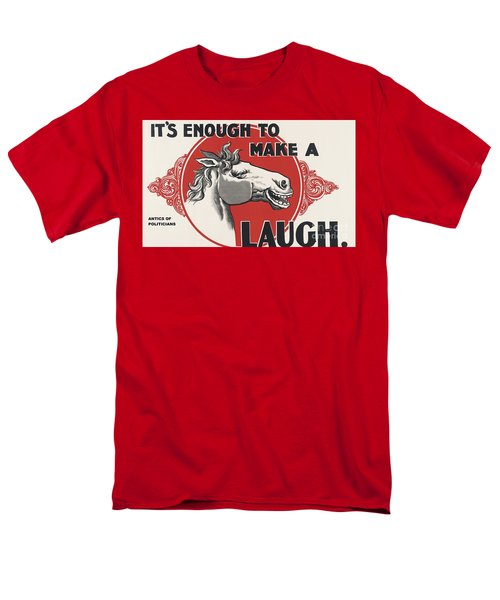 Enough Is Enough Men's T-Shirt  (Regular Fit) by Pg Reproductions