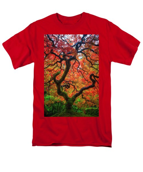 Men's T-Shirt  (Regular Fit) featuring the photograph Ethereal Tree Alive by Darren White
