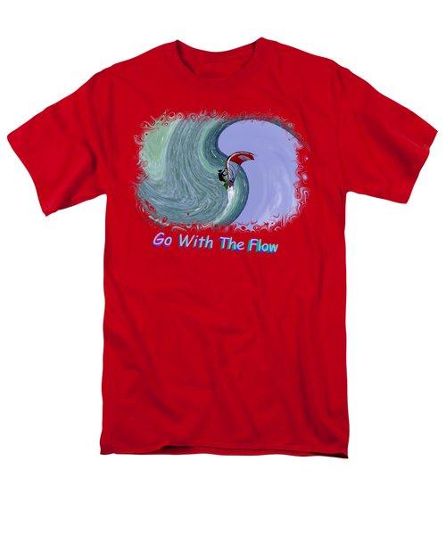 Exhilaration 2 Men's T-Shirt  (Regular Fit) by John M Bailey