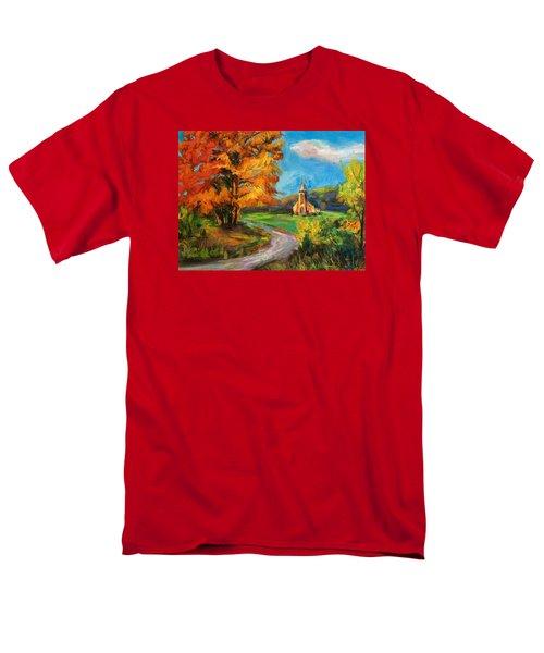 Fall Church Men's T-Shirt  (Regular Fit)
