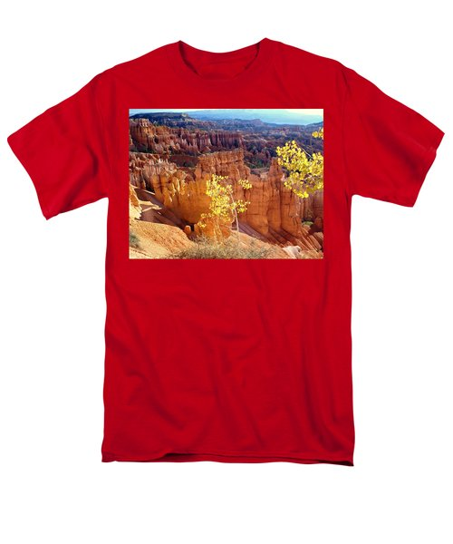 Fall In Bryce Canyon Men's T-Shirt  (Regular Fit) by Marty Koch