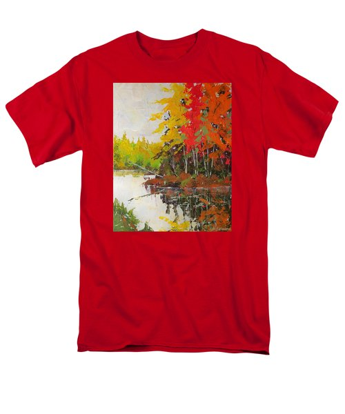 Fall Scene Men's T-Shirt  (Regular Fit) by David Gilmore