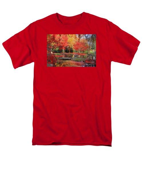 Men's T-Shirt  (Regular Fit) featuring the photograph Fall Spendor by Geraldine DeBoer