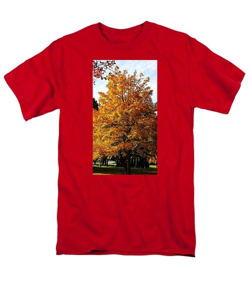 Fallish Yellowish Men's T-Shirt  (Regular Fit) by Jana E Provenzano