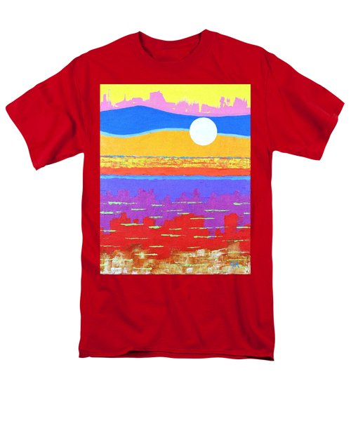 Fauvist Sunset Men's T-Shirt  (Regular Fit) by Jeremy Aiyadurai