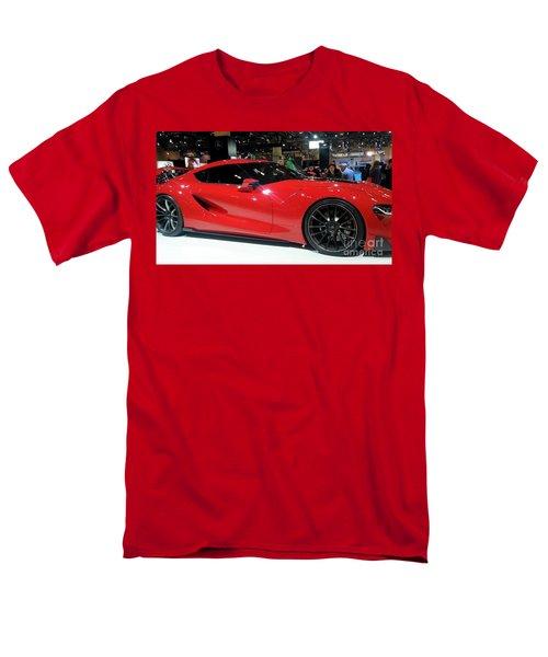 Red Ferrari Men's T-Shirt  (Regular Fit)