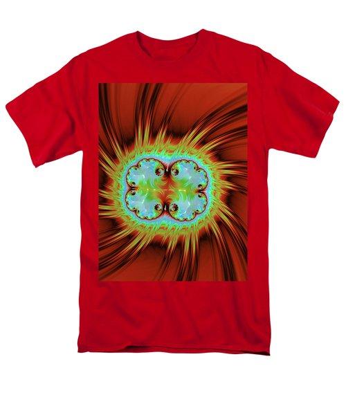 Fiery Glow Men's T-Shirt  (Regular Fit) by Rajiv Chopra