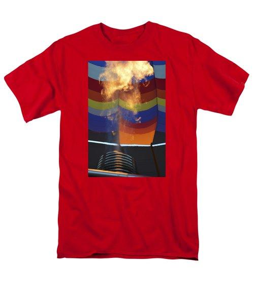 Firing Up Men's T-Shirt  (Regular Fit) by Linda Geiger