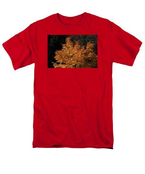Flaming Tree Brush Men's T-Shirt  (Regular Fit) by Deborah  Crew-Johnson
