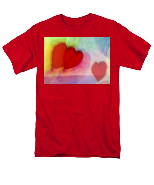Floating Hearts Men's T-Shirt  (Regular Fit) by Susan Stone