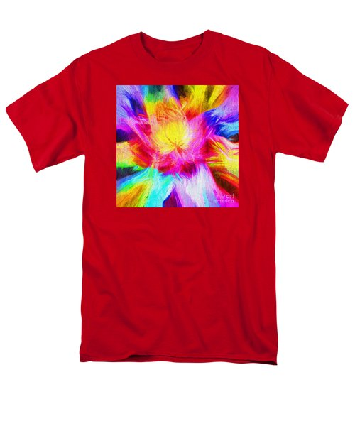 Men's T-Shirt  (Regular Fit) featuring the photograph Floral Mandala 02 by Jack Torcello