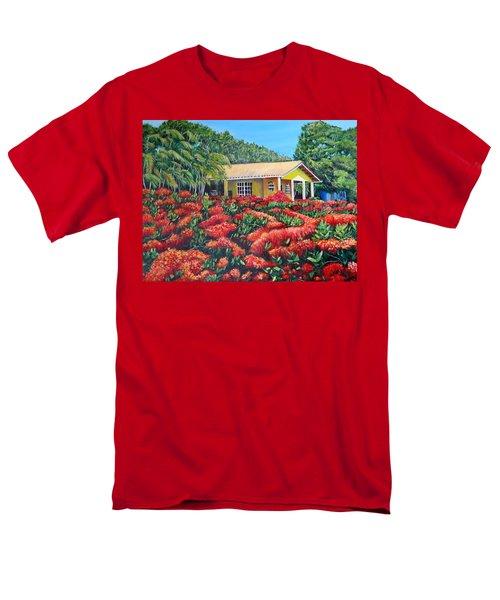 Floral Takeover Men's T-Shirt  (Regular Fit)
