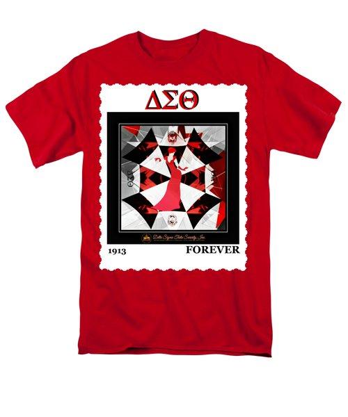 Forever Delta  Men's T-Shirt  (Regular Fit) by Lynda Payton