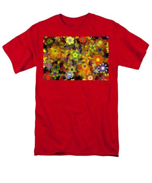 Fractal Floral Study 10-27-09 Men's T-Shirt  (Regular Fit)