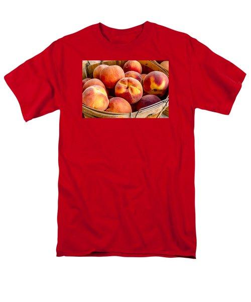 Fresh Peaches Men's T-Shirt  (Regular Fit) by Teri Virbickis