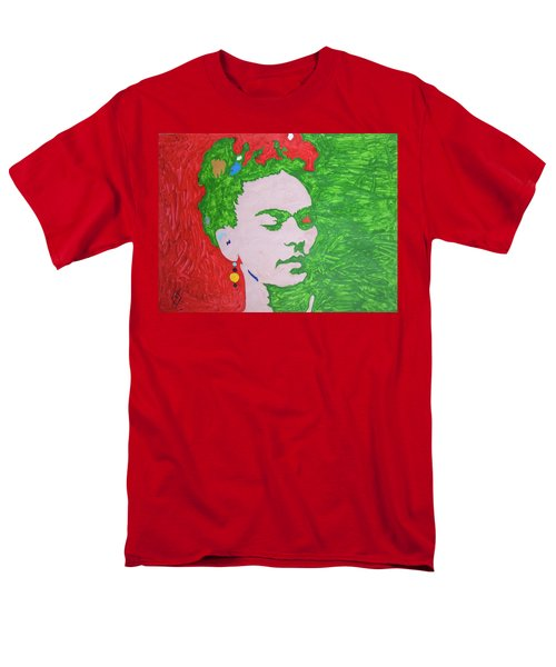 Frida Kahlo Men's T-Shirt  (Regular Fit) by Stormm Bradshaw