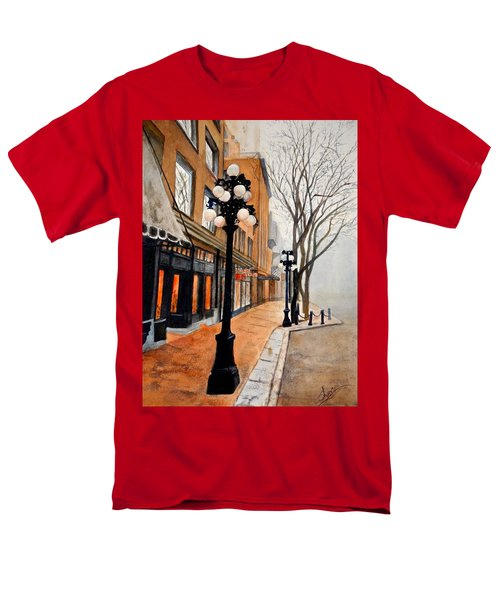 Gastown, Vancouver Men's T-Shirt  (Regular Fit) by Sher Nasser