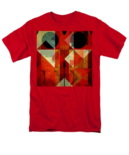 Geomix-04 - 39c3at22g Men's T-Shirt  (Regular Fit) by Variance Collections
