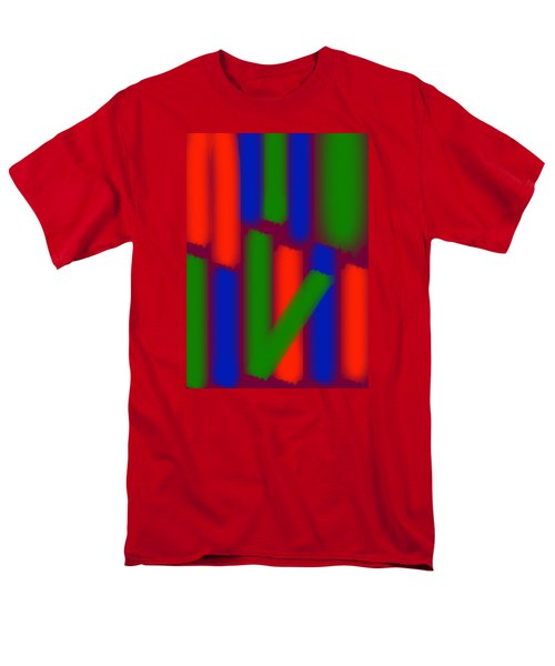 Glow Sticks Men's T-Shirt  (Regular Fit) by Karen Nicholson